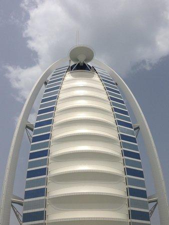 Burj al-Arab : Unique exterior