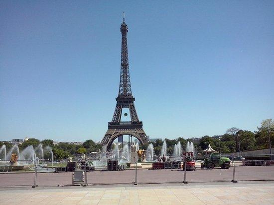 Palais de Chaillot: Torre vista do Trocadéro