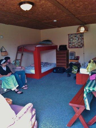 Presque Isle Passage RV Park & Cabin Rentals: Inside cabin 2