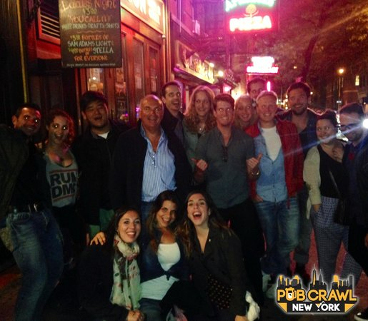 Pub Crawl New York: Fun night in the West Village