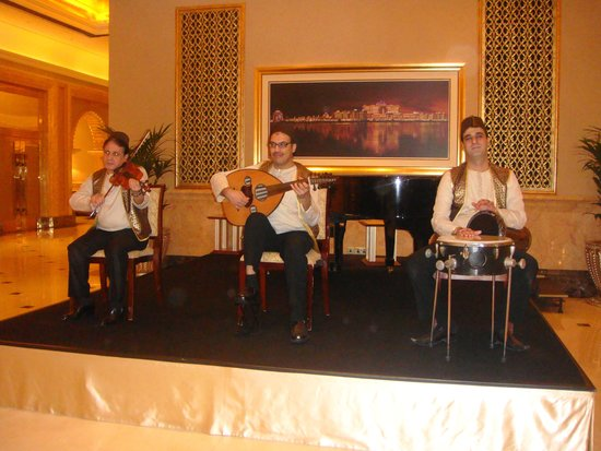 Emirates Palace Hotel: Hausmusik