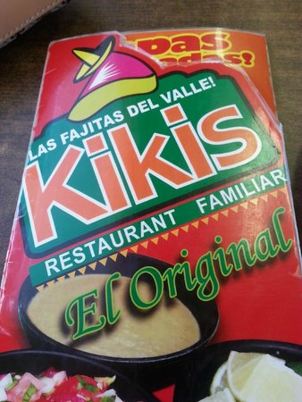 Kiki's Restaurant El Original: I want to try everything on this menu.