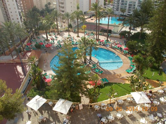 HOTEL PALM BEACH: View from room 627