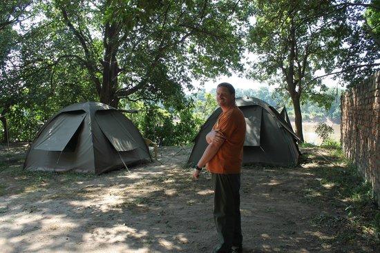Marula Lodge: The super great tents