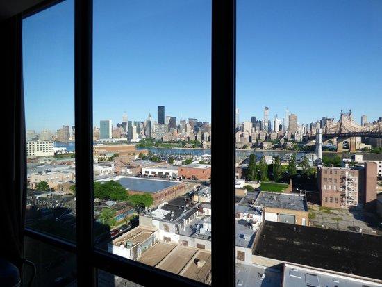Z New York Hotel: Vue de notre chambre 11ème étage