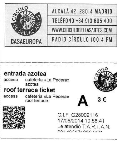 Entradas Picture Of La Pecera Del Circulo Madrid