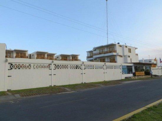 Hotel Emancipador: Hotel building