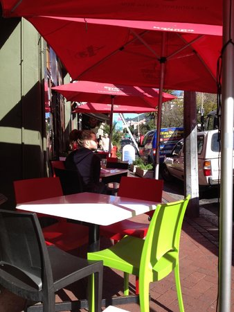 Cafe Mojito: The outside seating