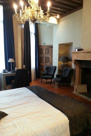 Hotel Boterhuis : onze kamer op gelijksvloer