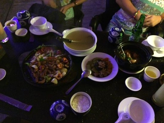 Thanh Thuy Blue Water Restaurant: Delicious Dinner!