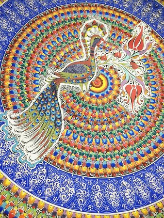 Sultans Ceramic: Plate