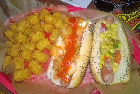 Dirty Frank's Hot Dog Palace: Dirty Franks Seoul Dog and Ohioana