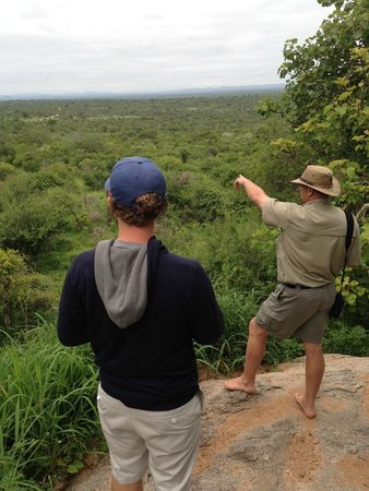 Wild Wings Safaris: Overlooking what I called the Pridelands, since I asked poor Simon to put speak Lion King to me