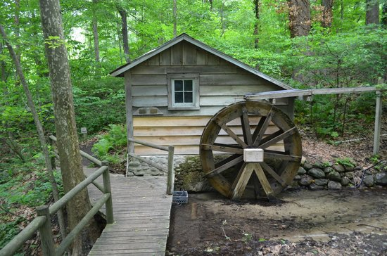 Fernwood Botanical Garden And Nature Preserve: Water Wheel