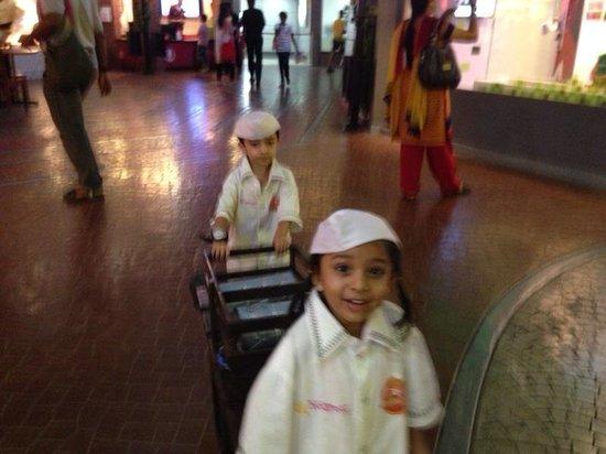 KidZania Mumbai: Dabawallas