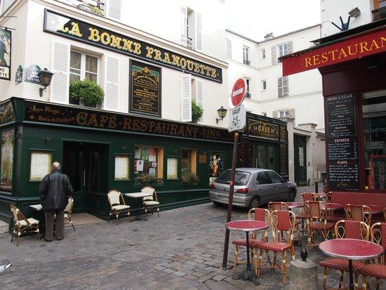 Montmartre: Calles