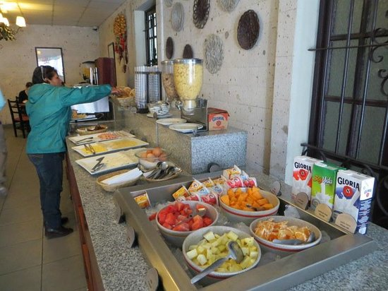 Casa Andina Standard Arequipa: breakfast