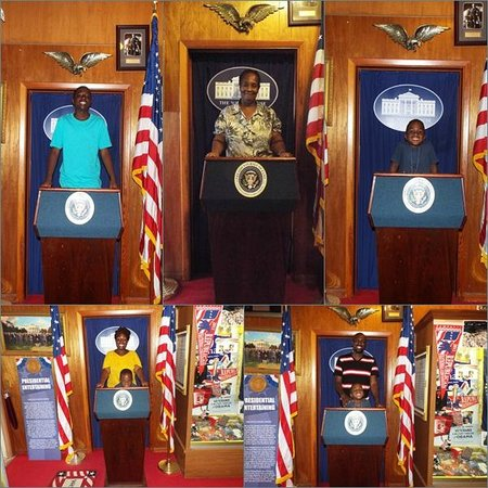 Presidents Hall of Fame: We're The President for a Day