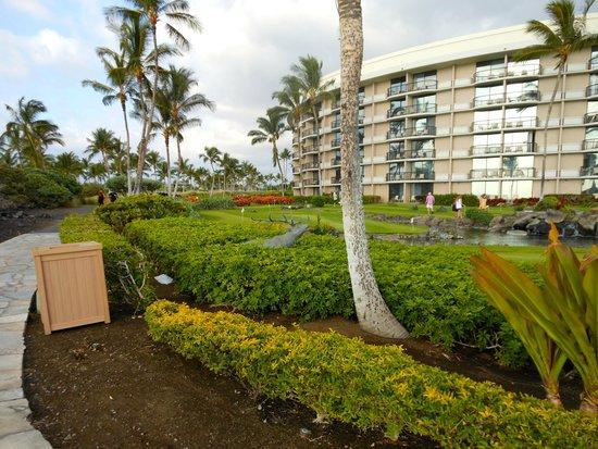 Hilton Waikoloa Village: Nice landscaping