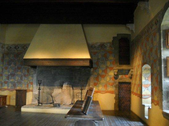 Castello di Fénis: una delle stanze