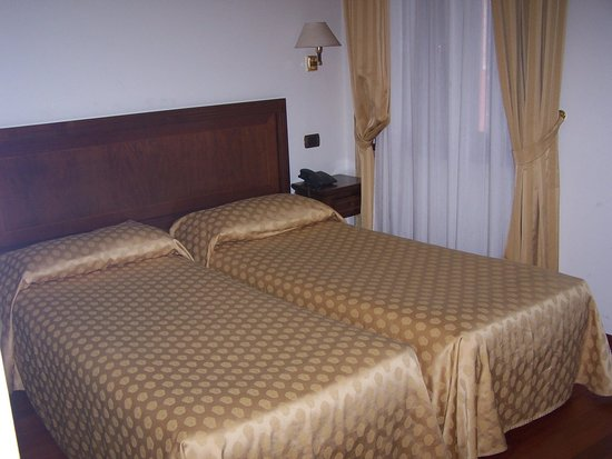 Hotel La Forcola: A twin room