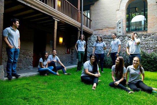 Casa del Alabado Museum of Pre-Columbian Arrt : Visita de los alumnos embajadores de la USFQ