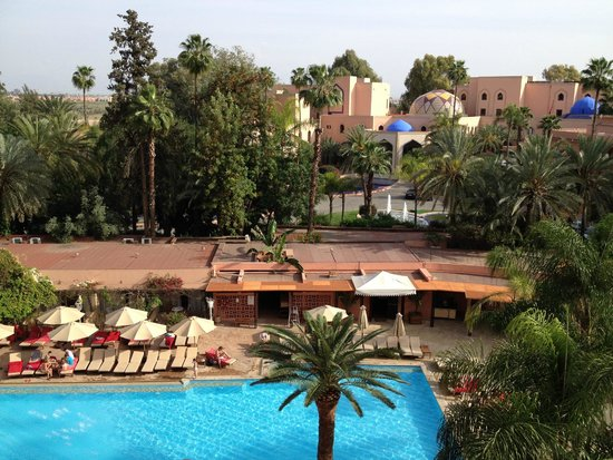 Es Saadi Marrakech Resort - Hotel : View from hotel room