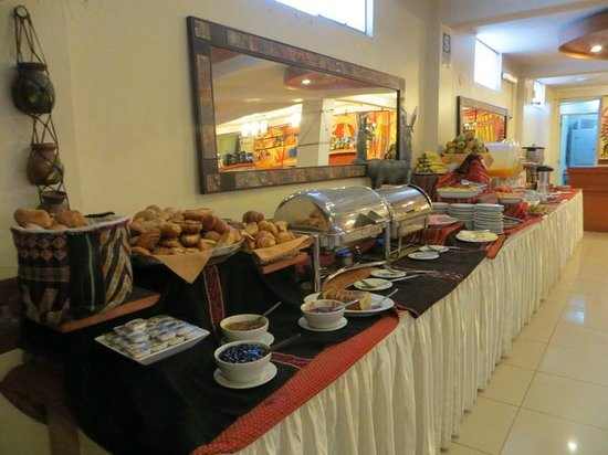 Hotel Taypikala Cusco : breakfast
