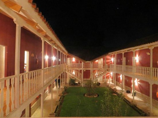 San Agustin Urubamba Hotel: open door on left is room 236