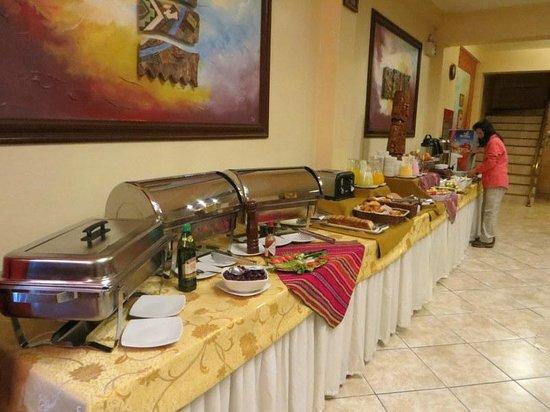 Taypikala Hotel Machupicchu: breakfast
