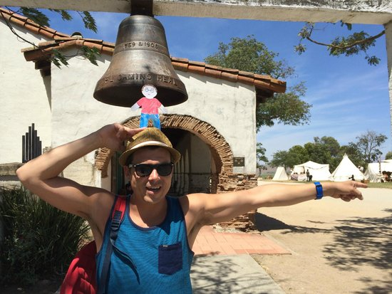 Mission San Juan Bautista: Follow the El Camino Real, it will lead you to the Missions!