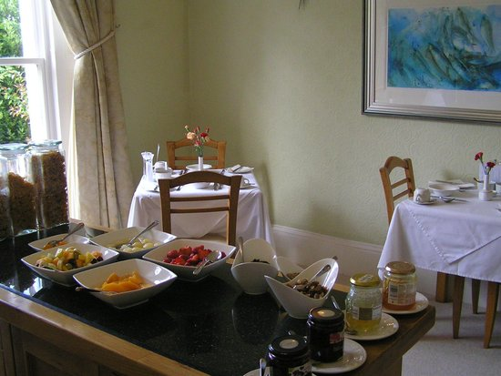 Trafalgar House : Breakfast