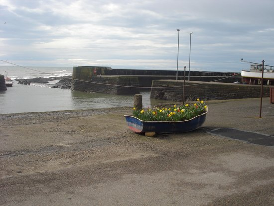 The Anchor Hotel, Johnshaven: Down to the harbour