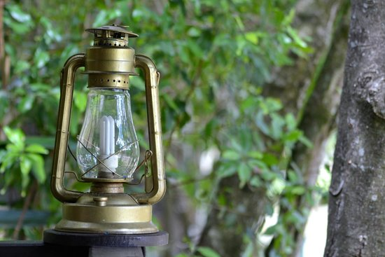 Mara Intrepids Luxury Tented Camp: Lamps outside tent