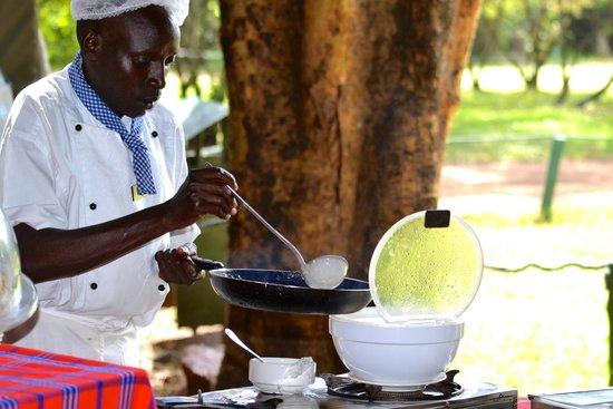 Mara Intrepids Luxury Tented Camp: Pancakes