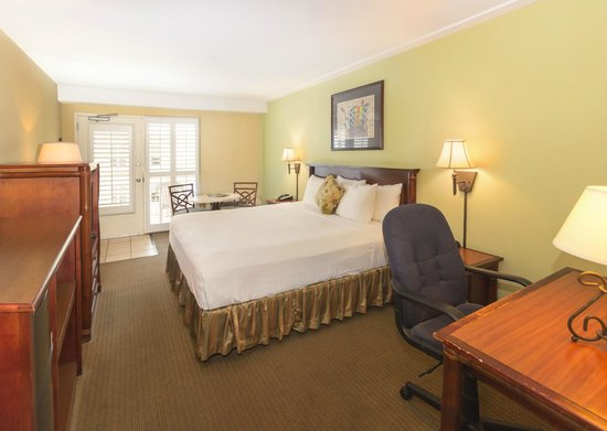 The Palms Oceanfront Hotel: Coastal King Guestroom