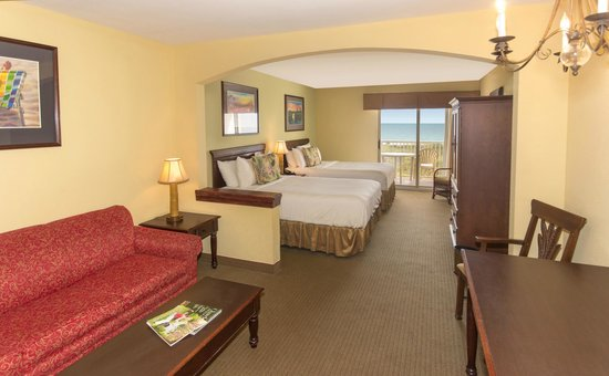The Palms Oceanfront Hotel: Oceanfront Balcony Guestroom