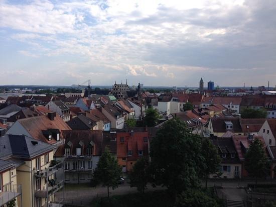 Panorama Hotel Schweinfurt: uitzicht op schweinfurt