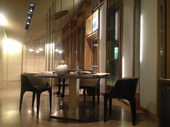Ristorante Berton : Inside , entrance view