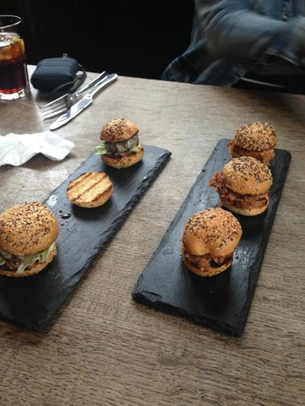Marquis of Westminster: Finger food