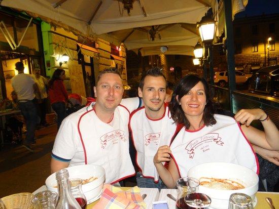 Rome Armony Suites: at Ponte Vittorio restaurant