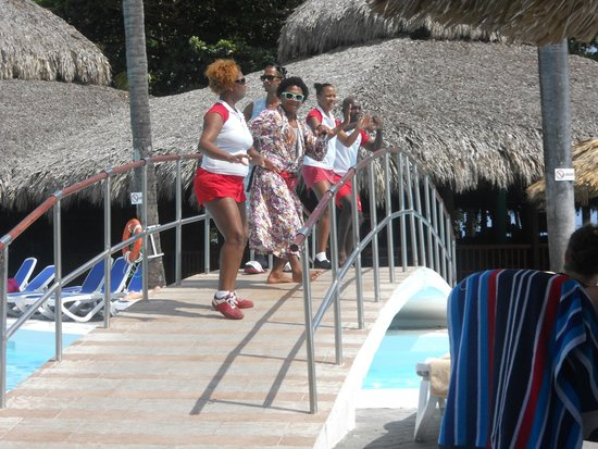 ClubHotel Riu Merengue: The hardworking entertainment team!