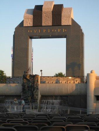 National D-Day Memorial : D-Day Memorial at sunset