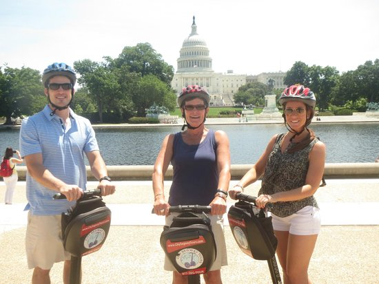 City Segway Tours of Washington, DC : Markie took this great photo for us
