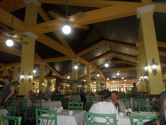 ClubHotel Riu Merengue: Main dining area
