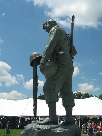 National D-Day Memorial : remembering the cost....
