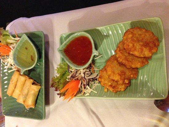 Jintana Thai Restaurant: Fantastic starters!