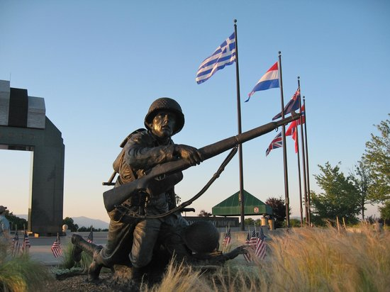 National D-Day Memorial: ...the attack.....
