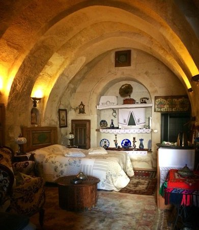 Sofa Hotel: Cave rooms