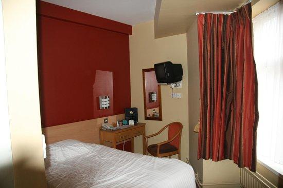 Harding Hotel: Rommet var i minste laget